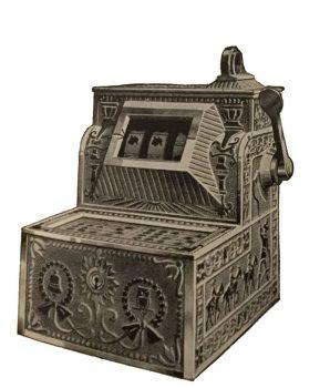 5¢ Mills Puritan Bell Trade Stimulator Slot Machine