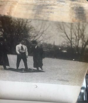 """Billy Bitzer Mutoscope Reel – 1907- """"Man Being Run Over By Automobile"""""""
