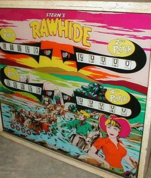 Rawhide Pinball