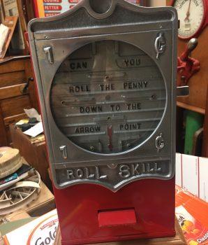 Penny Roll Skill Trade Stimulator