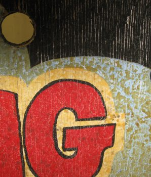 """The Guessing Game"" Carnival Sign"