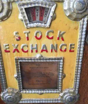 Rare Stock Exchange Gambler Coin-op