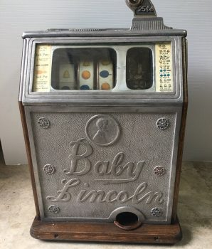 25 cent Watling Baby Lincoln Slot Machine